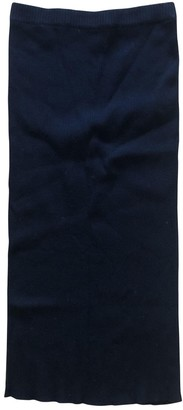 Porsche Design Black Cotton Skirt for Women