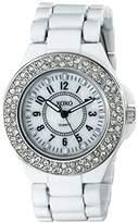XOXO Women's XO133 Analog Display Analog Quartz White Watch