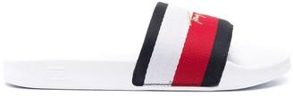 Tommy Hilfiger Logo-Print Slides