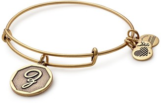 Alex and Ani Initial 'Z' Adjustable Wire Bangle