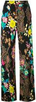 Etro floral paisley trousers - women - Viscose - 42