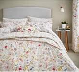 V&A Botanica 100% Cotton Bedspread Throw – Natural