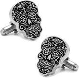 Asstd National Brand Day of the Dead Silver Cufflinks