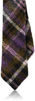 Alexander Olch MEN'S PLAID WOOL NECKTIE