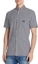 Barney Cools Gingham Regular Fit Button-Down Shirt