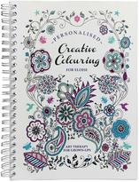 Very Personalised Creative Colouring - Premium Adults Colouring Book - Travel Edition