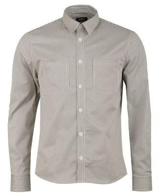 A.P.C. David Shirt Colour: GREY, Size: SMALL