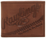 Rawlings Sports Accessories Fielder's Choice Bi-Fold Leather Wallet