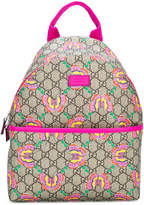 Gucci Kids GG Supreme butterfly backpack