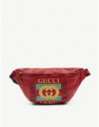 Vestiaire Collective Gucci leather belt bag