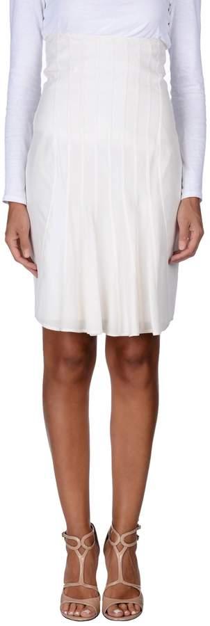Emilio De La Morena Knee length skirts