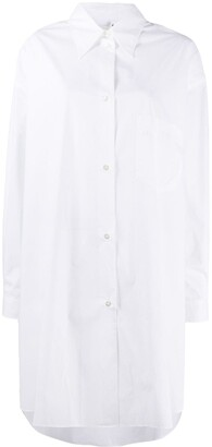 MM6 MAISON MARGIELA Button-Up Shirt Dress