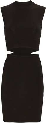 GAUGE81 Mao Cut-Out Knit Mini Dress