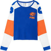 PINK University Of Florida Bling Cropped Varsity Crew
