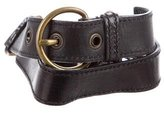 Miu Miu Leather Waist Belt