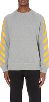 Moncler striped cotton-jersey sweatshirt