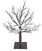 Camilla And Marc The Benross Christmas Workshop 45 cm Cherry Tree with 48 LED's Light, White