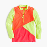 J.Crew Girls' colorblock rash guard