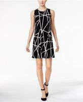 Tommy Hilfiger Geo-Print Shift Dress