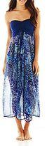 Raviya Print Flyaway Cover-Up Maxi Dress