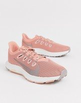 Nike Running quest sneakers in pink
