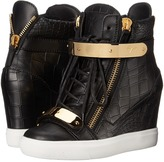 Giuseppe Zanotti Print Wedge with Ankle Band Women's Wedge Shoes