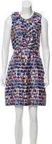 Kate Spade Abstract Print Silk Dress