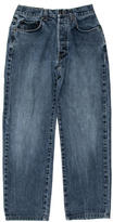 Gucci Light Wash Straight-Leg Jeans