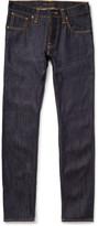 Nudie Jeans Average Joe Straight-Fit Organic Dry-Denim Jeans