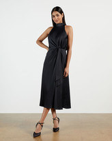 Thumbnail for your product : Ted Baker LELLY Halterneck occasion midi dress