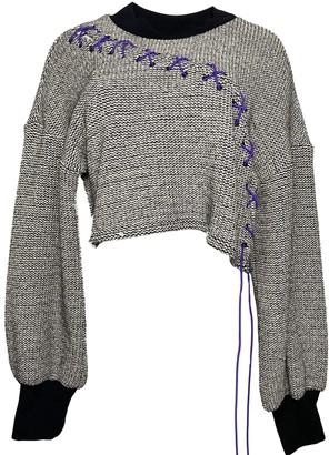 Maturos New York Gwen Lace Up Knit Sweater
