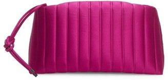 Dries Van Noten Quilted Satin Clutch