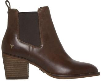 Windsor Smith Faith Chocolate Boot