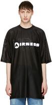 Hood by Air Black airness T-shirt