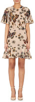 Valentino Women's Butterfly & Flower-Print Silk Dress