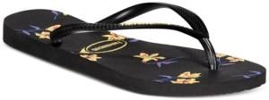 Havaianas Women's Slim Floral Flip-Flop Sandals Women's Shoes