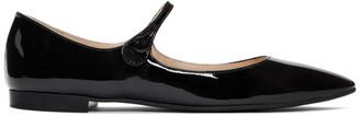 Prada Black Patent Ballerina Flats