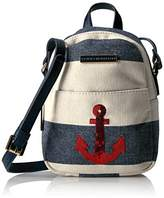 Tommy Hilfiger Aurora Anchor Stripe Backpack Crossbody