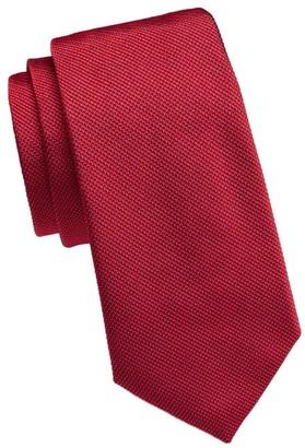 Emporio Armani Woven Silk Tie