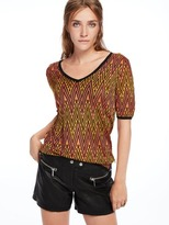 Scotch & Soda Knitted V-Neck Top