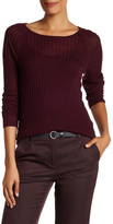 Ellen Tracy Ribbed Knit Feather Weight Sweater
