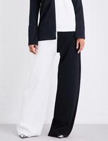 Marques Almeida Wide-leg crepe trousers