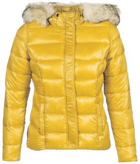 Kaporal PERLE women's Jacket in Yellow