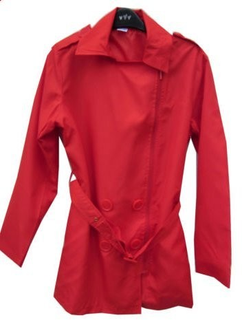 La Redoute Ladies Lightweight Red Belted Jacket 10/12