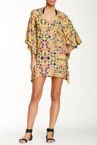 Vix V Caftan Printed Dress