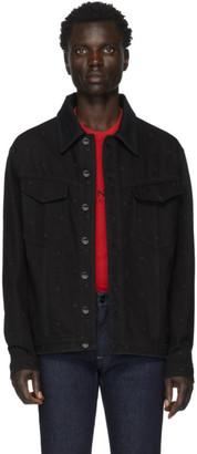 Fendi Black Denim FF Jacket