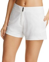 Vilebrequin White Swim Cover-Up Shorts