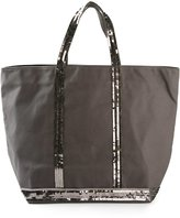 Vanessa Bruno sequin embellished tote - women - Cotton - One Size