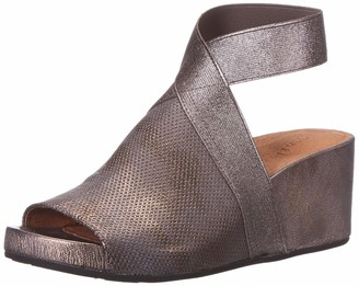 Gentle Souls by Kenneth Cole Women's Gisele 65 Elastic Wedge Sandal