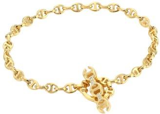 Hoorsenbuhs Open-Link 3MM 18K Yellow Gold & Diamond Bracelet